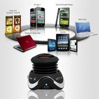 Satechi BT Wireless Bluetooth Portable Speaker System for MP3 Players, iPhone, Android Phones, and iPad