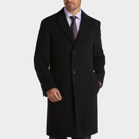 CALVIN KLEIN BLACK CAR COAT | TMWStore