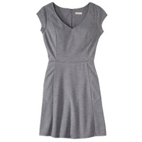 Merona® Women's Textured Cap Sleeve Fit and Flare Dress - Solid Colors