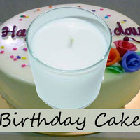 Birthday Cake Scented Candle in Tumbler 13 oz