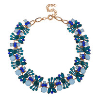 Blue Ice Queen Necklace