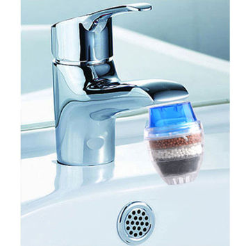 Home Tool Activated Carbon Tap Water Water Purifier Use For Kitchen Faucet Tap Water Filter Purifier