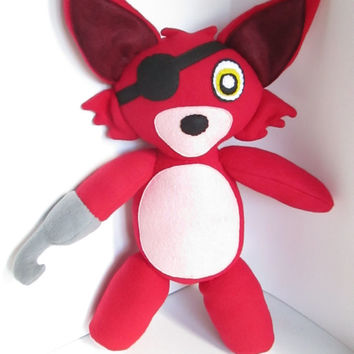 Foxy Plush Inspired by Five Nights At Freddy's  (Unofficial)