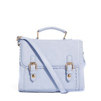 ASOS Satchel Bag With Scalloped Edge