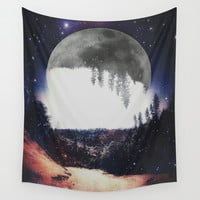 Night Hike Wall Tapestry by DuckyB (Brandi)