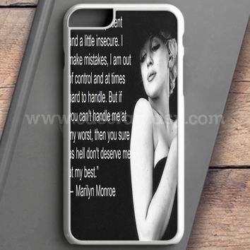 Marilyn Monroe Quote Leopard Shoe iPhone 6 Case | casefantasy
