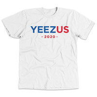 YeezUS for President 2020 - Kanye West 2020 Presidential Support T-Shirt