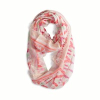 AEO Women's Ikat Printed Scarf (Ocean Air)