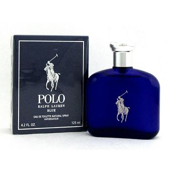 Polo Blue by Ralph Lauren 4.2 oz. Eau de Toilette Spray for Men