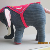 Chico our elephant is trumpeting his arrival, Size:8 x 10 inches