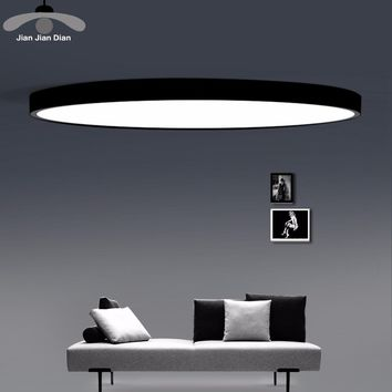 LED Ceiling Light Modern Panel Lamp Lighting Fixture Living Room Bedroom Kitchen Surface Mount Flush Remote Control 1