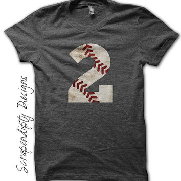 Baseball Dad Shirt - Kids Baseball Tee / Toddler Baseball Shirts / Baseball Gift / Teeball Mom Shirt / Baseball Birthday Shirt / Mens Tshirt