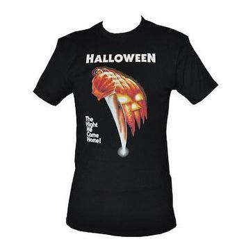 T SHIRT HALLOWEEN MOVIE POSTER MENS BLACK ALL SIZES S TO 3XL FREE POST HORROR | eBay