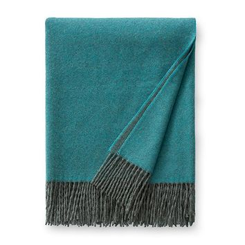 Renna Teal Throw by Sferra
