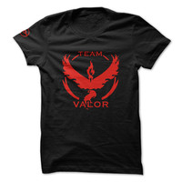 Official Pokemon Go Team Valor T shirt