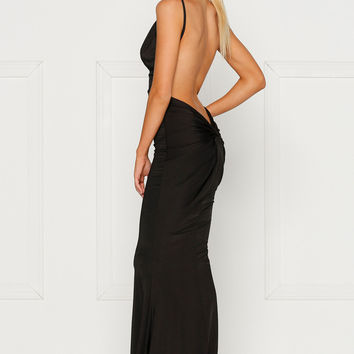 Penelope Gown Black by Alamour the label