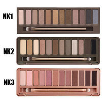 Naked Eyeshadow Palette NK 1 2 3 make up palette