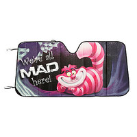 Disney Alice In Wonderland Cheshire Cat All Mad Here Accordion Sunshade