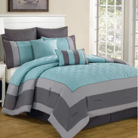 DR International Spain 8 Piece Comforter Set