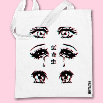 Anime Crybaby TOTE