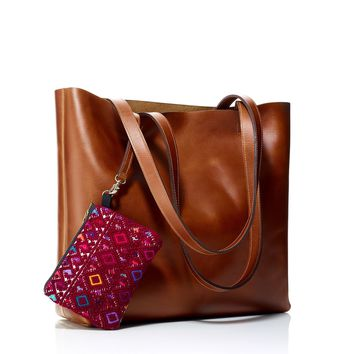 Paulina Leather Tote