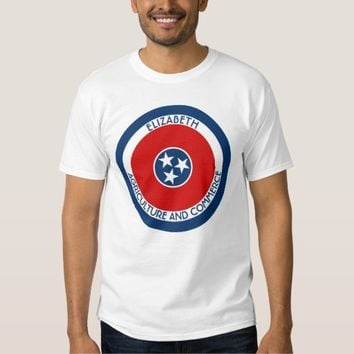 Tennessee The Volunteer State Personalized Flag Shirt