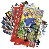 Sonic Collector Set (Sonic The Hedgehog Comic, Issues 228 - 237)
