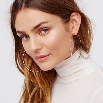 Free People Cherry Bomb Ombre Hoops