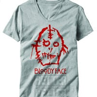 American Horror Story Asylum Inspired Bloody face Shirt
