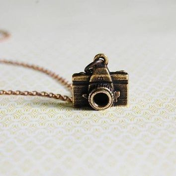 The Photographer Necklace by verabel on Etsy