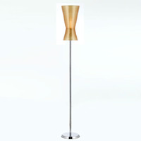 AF Lighting 8584-FL Aimee Gold One Light Floor Lamp by Angelo Home