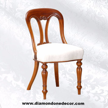Fabulous Baroque Louis XIV Regency Style French Reproduction Accent or Dining Chair