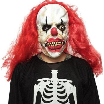 Halloween Party Cosplay Mask Funny Scary Ghost Clown Joker Full Face Costume