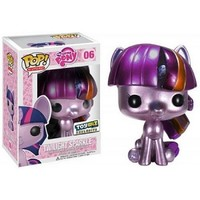 My Little Pony Pop! Vinyl Figure Metallic Twilight Sparkle : Forbidden Planet