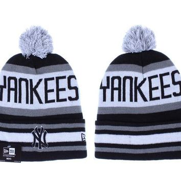 PEAPON New York Yankees Beanies New Era MLB Baseball Hat