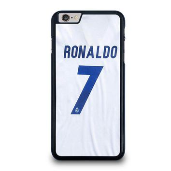 RONALDO CR7 JERSEY REAL MADRID iPhone 6 / 6S Plus Case Cover