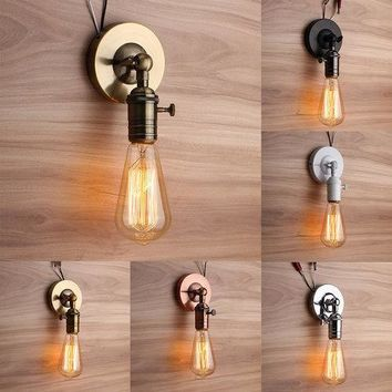 Vintage E27 Industrial Wall Lamp
