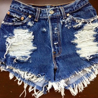 Adrianna Distressed Shorts