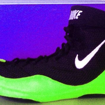"black/lime Inflicts - ""You Ship We Customize Theme"""