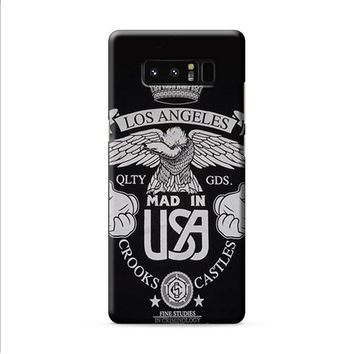 LOS ANGELES CROOKS AND CASTLES Samsung Galaxy Note 8 case