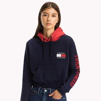 Tommy Hilfiger Women Hot Hoodie Cute Sweater-4