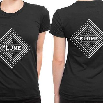 DCCKL83 Flume Infinity Prism 2 Sided Womens T Shirt
