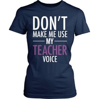 Teacher - Voice