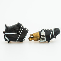Working 1950s Puma Brasil Football Boot Figural Pocket Lighter