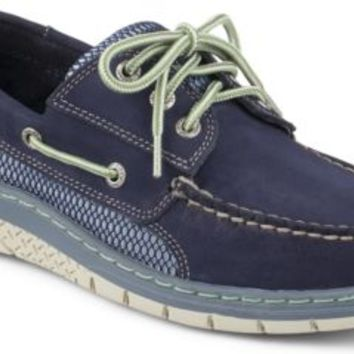 Sperry Top-Sider Billfish Ultralite 3-Eye Boat Shoe Navy/Gray, Size 7M  Men's Shoes