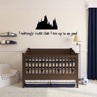 Wall Decal Vinyl Sticker Garry Potter Story Kids Quote Castle Nursery Gift a132