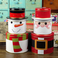 Cute X mas Tin Box : Cozyhere