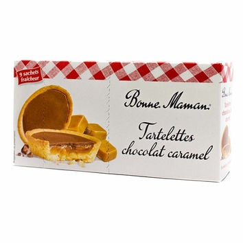 Bonne Maman - Chocolate Caramel Tarts, 4.8 oz