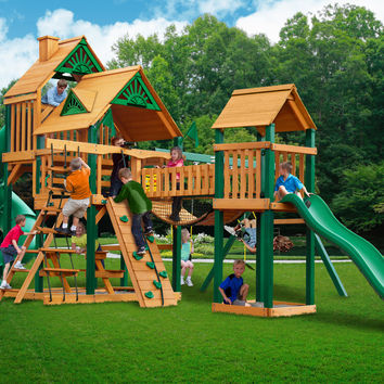 Gorilla Playsets Treasure Trove I Wooden Swing Set