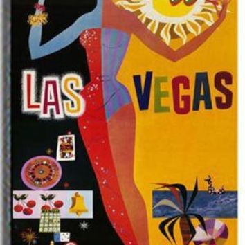 Las Vegas Stretched Canvas Art